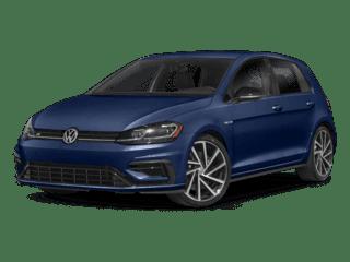 VW Golf R angled
