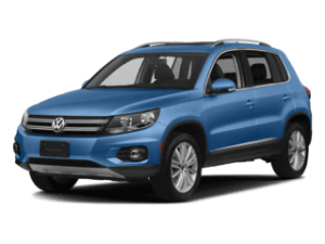 VW Tiguan Limited model