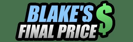Blake's Final Price