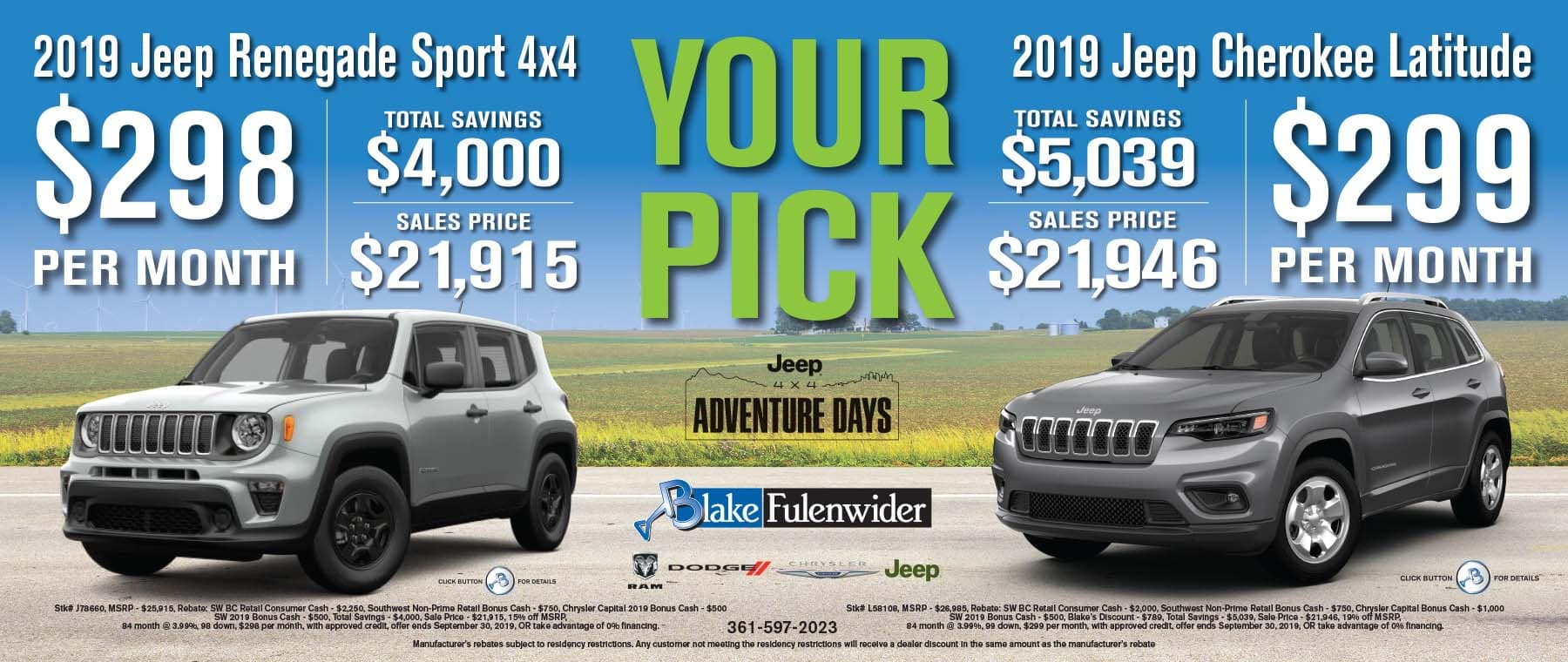 About Our Dealership | Blake Fulenwider Ram Chrysler Dodge Jeep