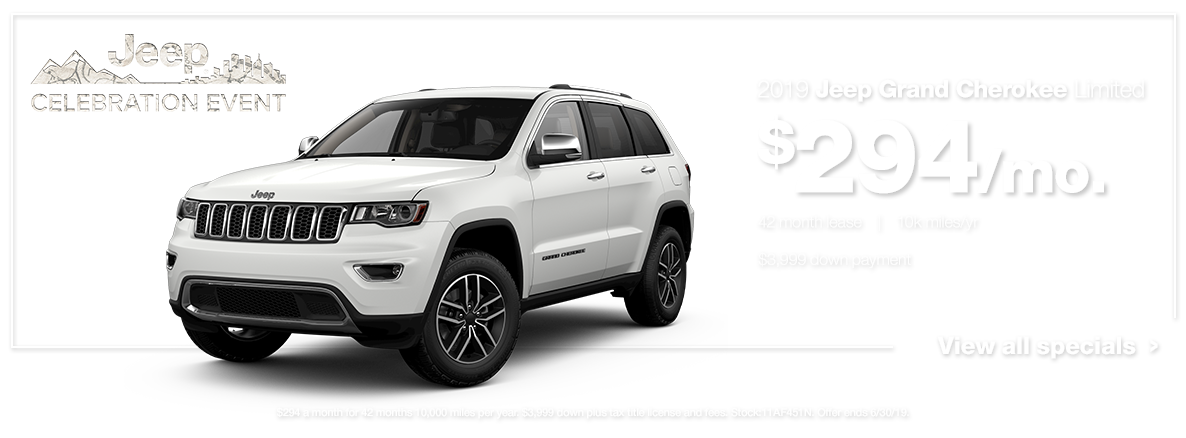 2019 Grand Cherokee Limited White
