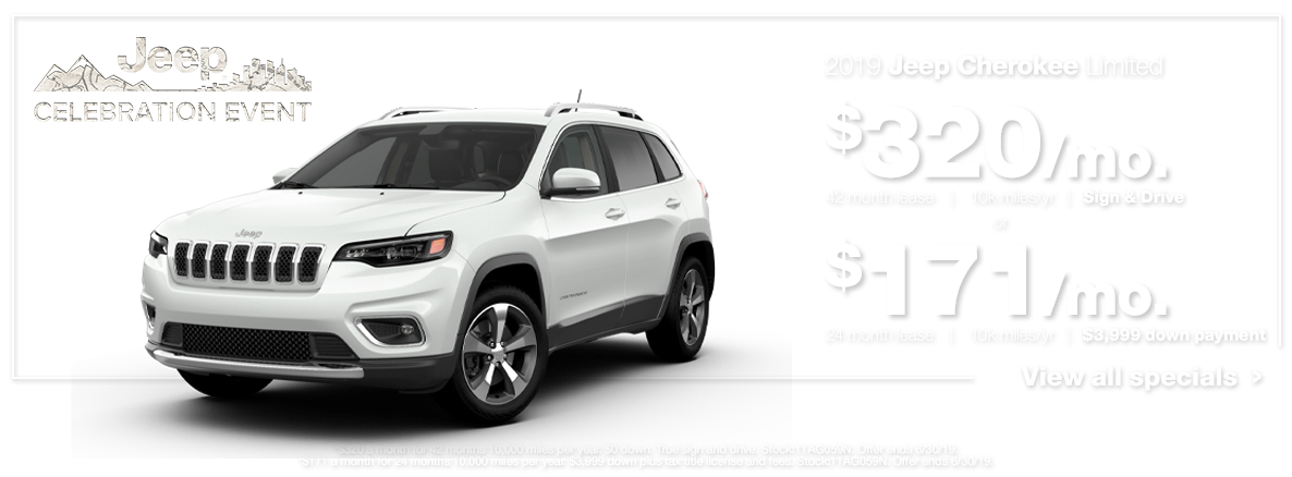 2019 Cherokee Limited White
