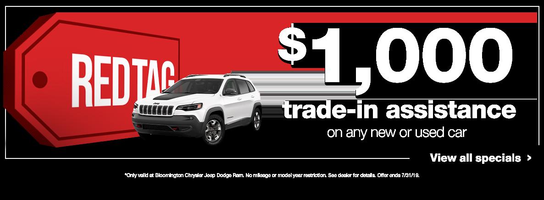 $1,000 Trade Bonus
