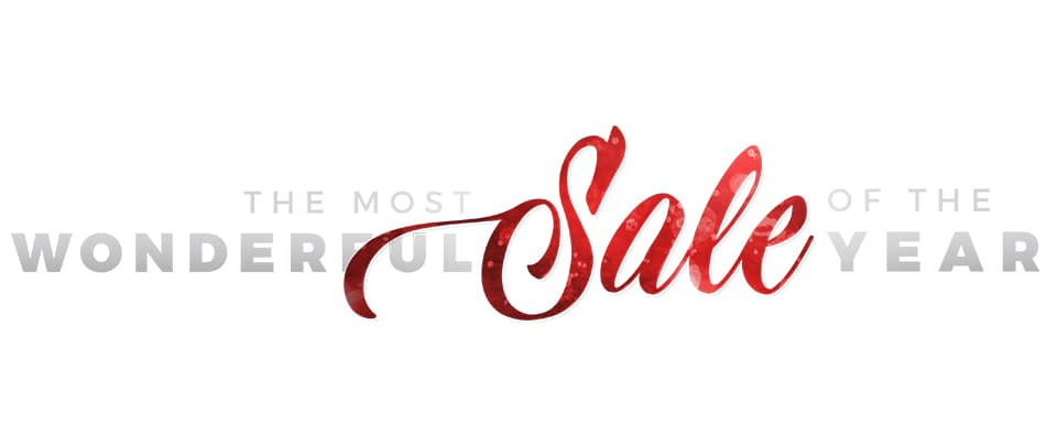 Its the Most Wonderful Sale of the year