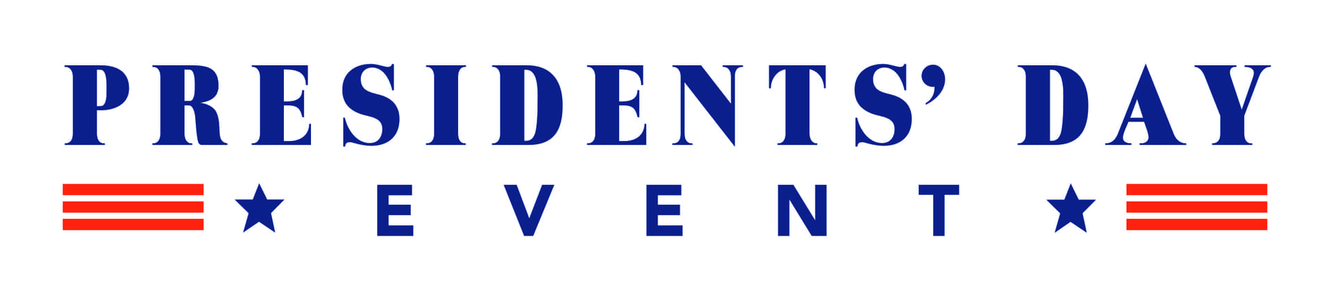 President's Day Event Logo