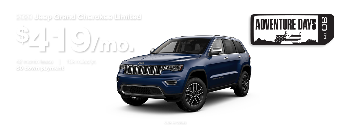 2020 Grand Cherokee Limited