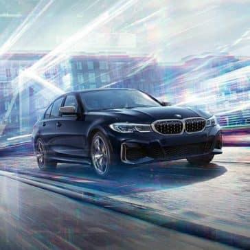 2020 BMW 3 Series Driving