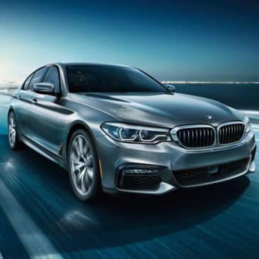 2020 BMW 5 Series Driving