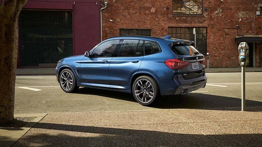 2020 BMW X3 Rear