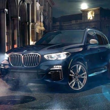 2020 BMW X5 At Night