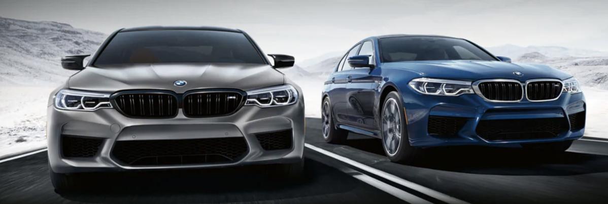 BMW M5 Competition Sedans