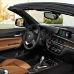 2021 BMW 2 Series Convertible interior