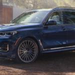 BMW X7, Blue Exterior