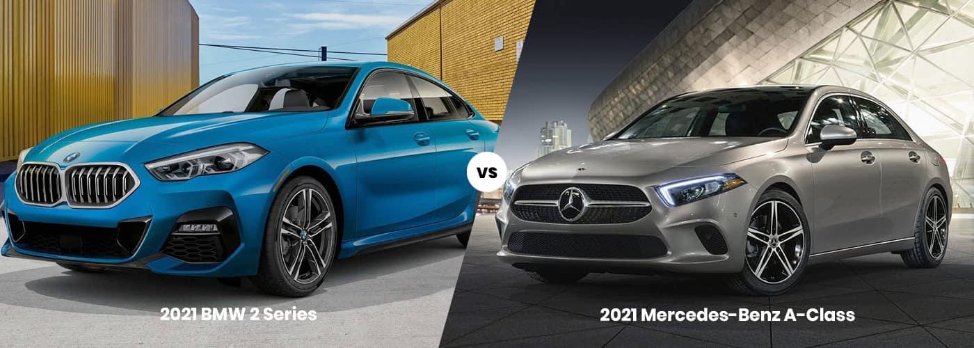 2021 BMW 2 Series vs. 2021 Mercedes-Benz A-Class