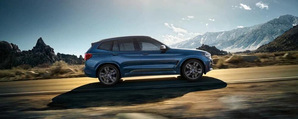 2021 BMW X3 Driving