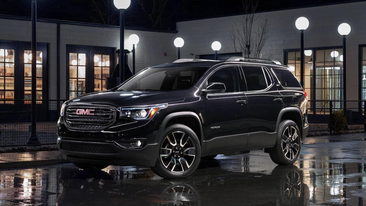 2019 GMC Acadia Parked