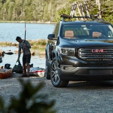 2019 GMC Acadia At the Lake
