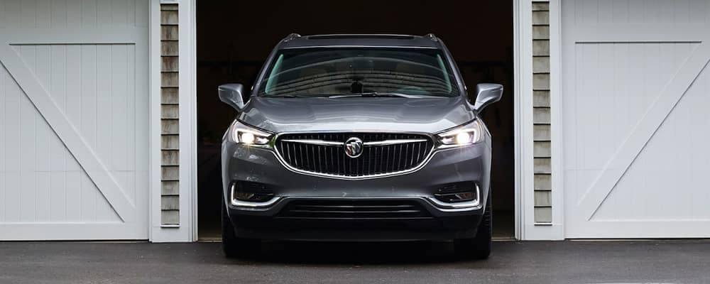 2019 Buick Enclave Leaving Garage