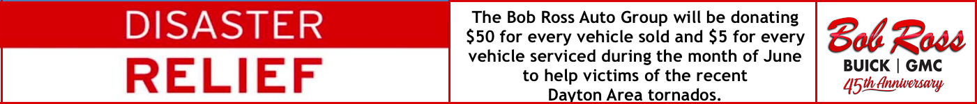 Bob Ross Buick GMC Tornado relief June 2019