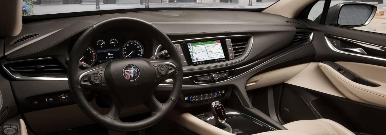 2020 Buick Enclave interior dashboard