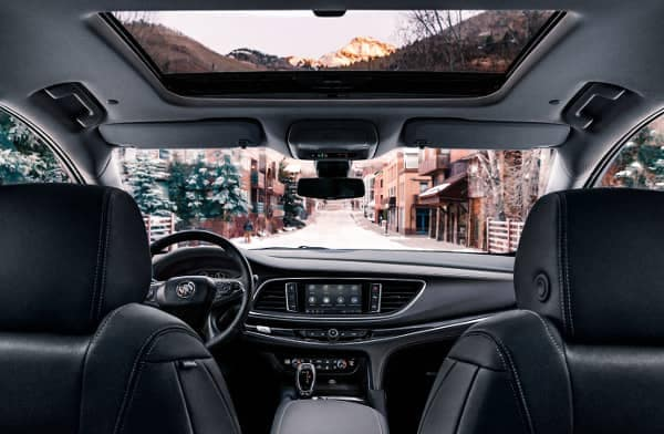 cabin of 2020 Buick Enclave