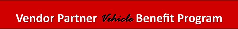 vendor partner vehicle benefit program
