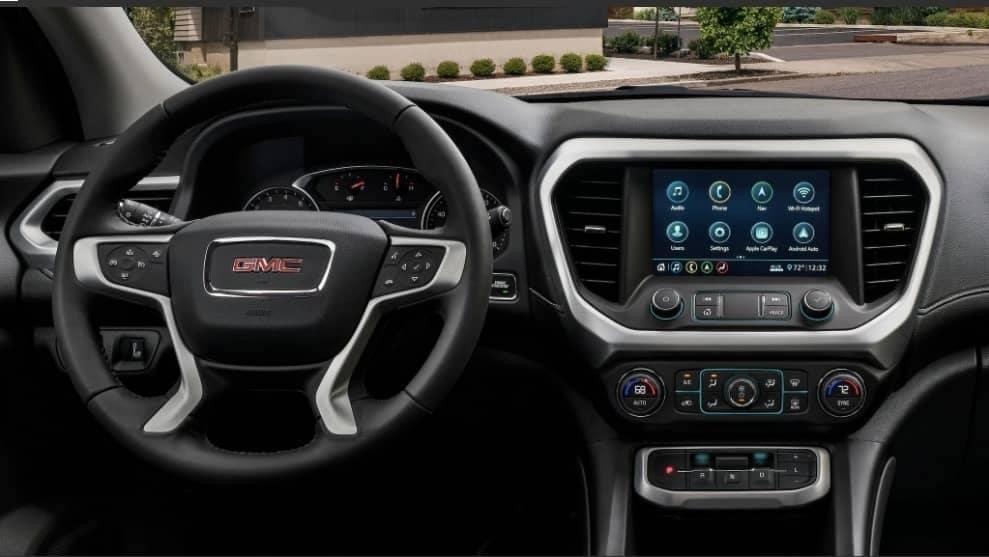 2020 GMC Acadia dashboard