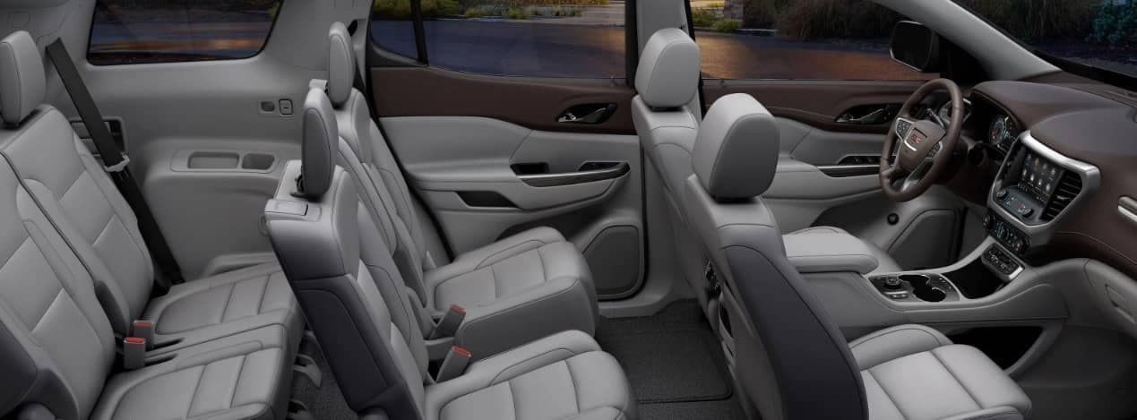 2020 GMC Acadia interior cabin