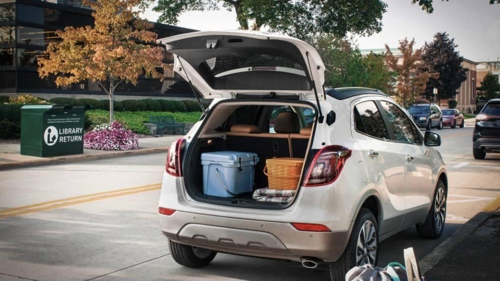 cargo space in 2020 Buick Encore