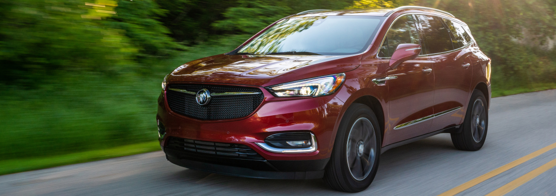 2020 Buick Enclave red