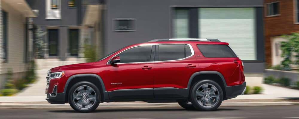 2020 GMC Acadia Parked on City Street