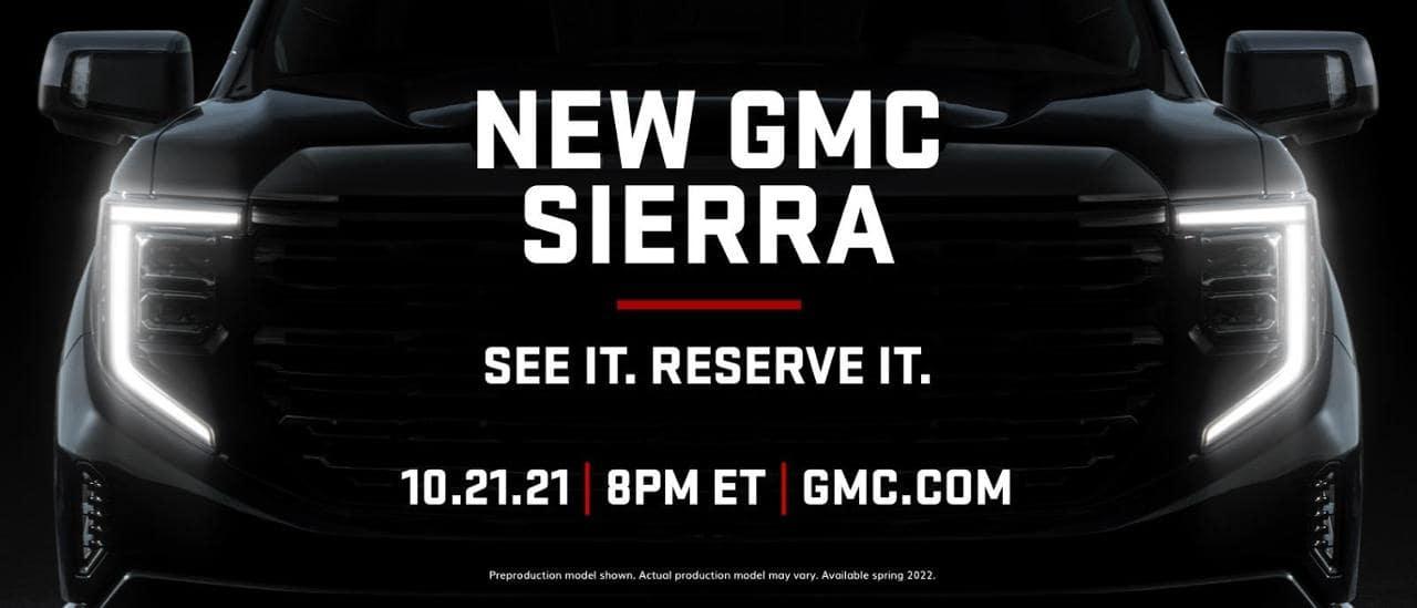 New GMC Sierra