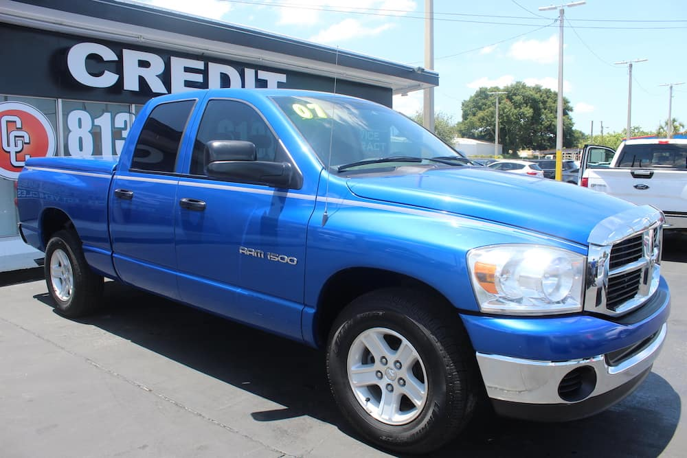 used dodge ram 1500 in tampa