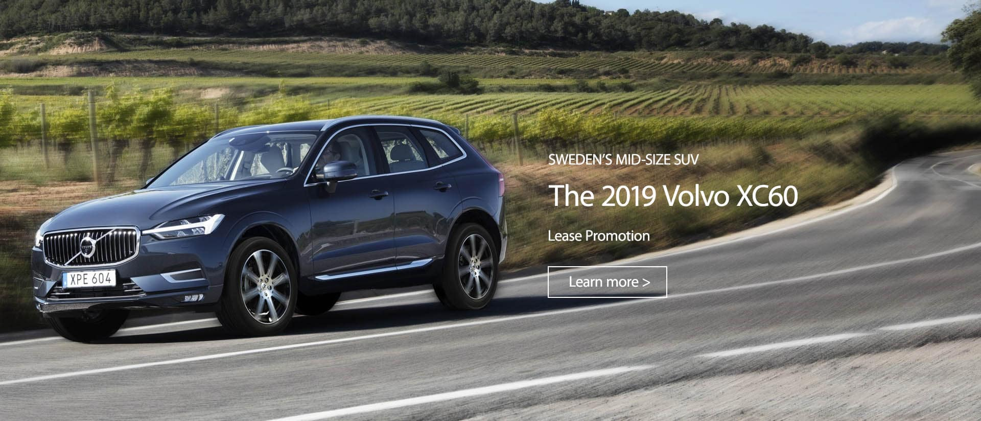 XC60 Lease Promotion