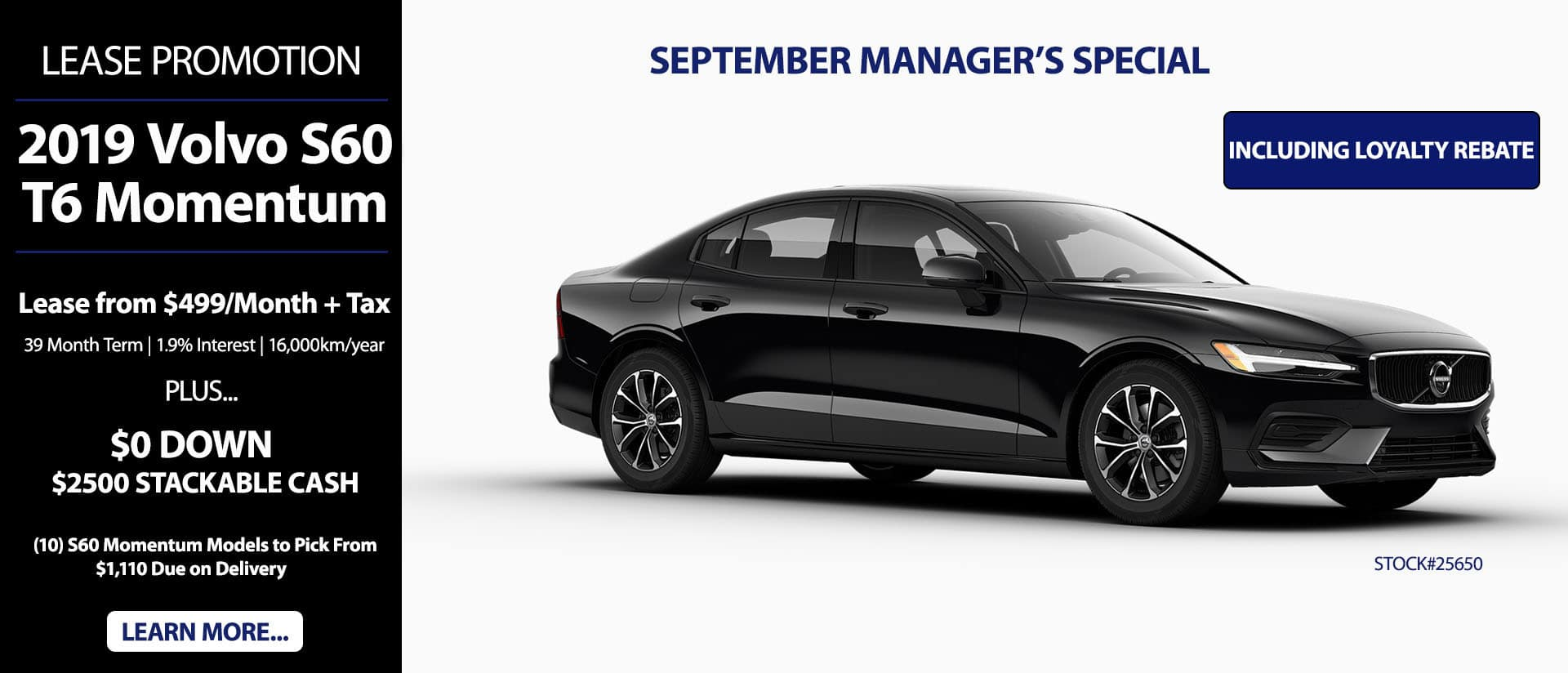 S60 September Special
