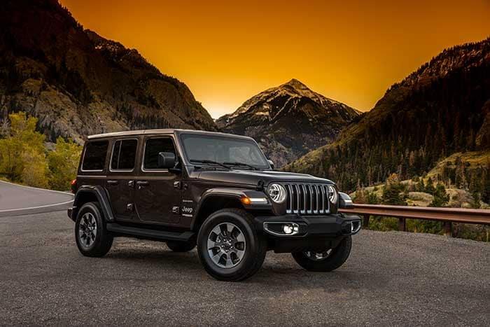 2018 Jeep Wrangler Unlimited Finance Offer