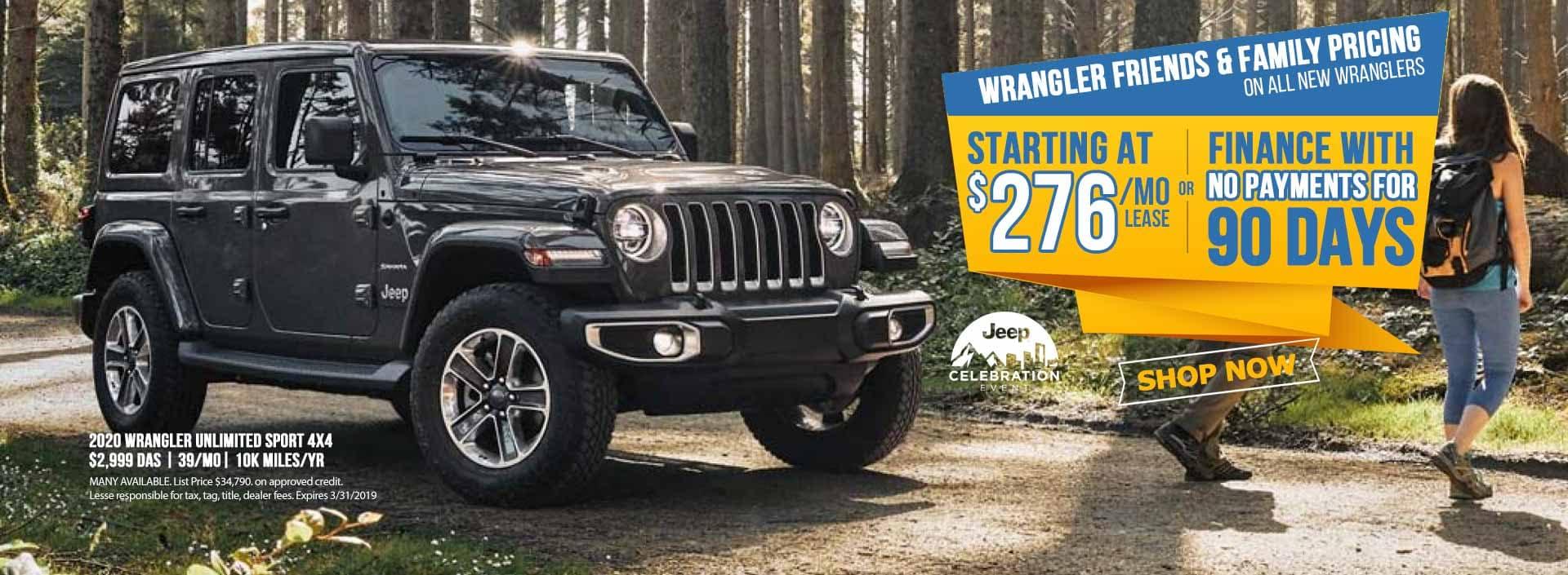 Jeep Wrangler 2020 Sale