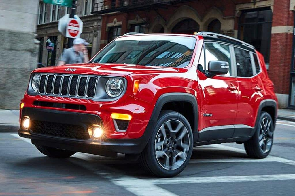 2020 & 2021 Jeep Renegade