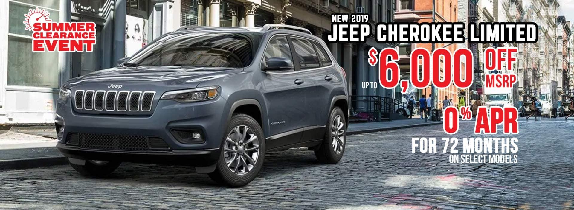 Jeep Cherokee Sale