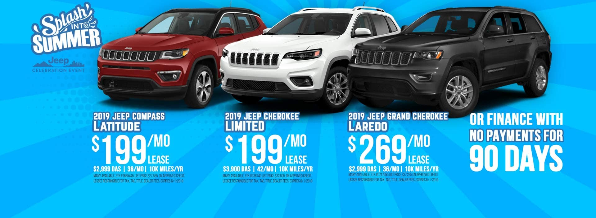 Jeep Compass Jeep Cherokee Jeep Grand Cherokee Sale