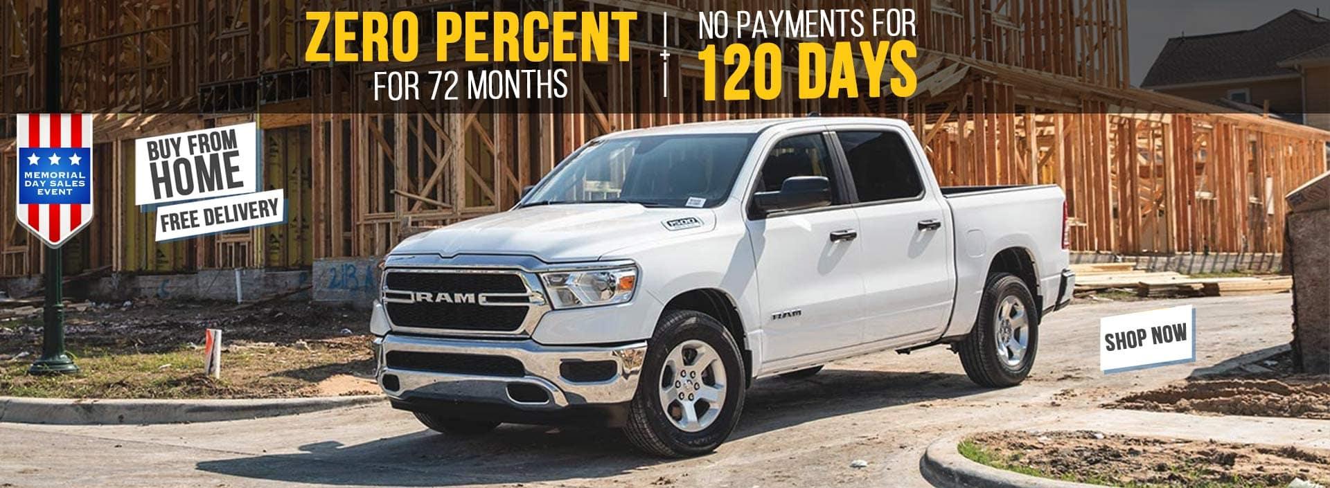 Memorial Day Ram Truck Sale