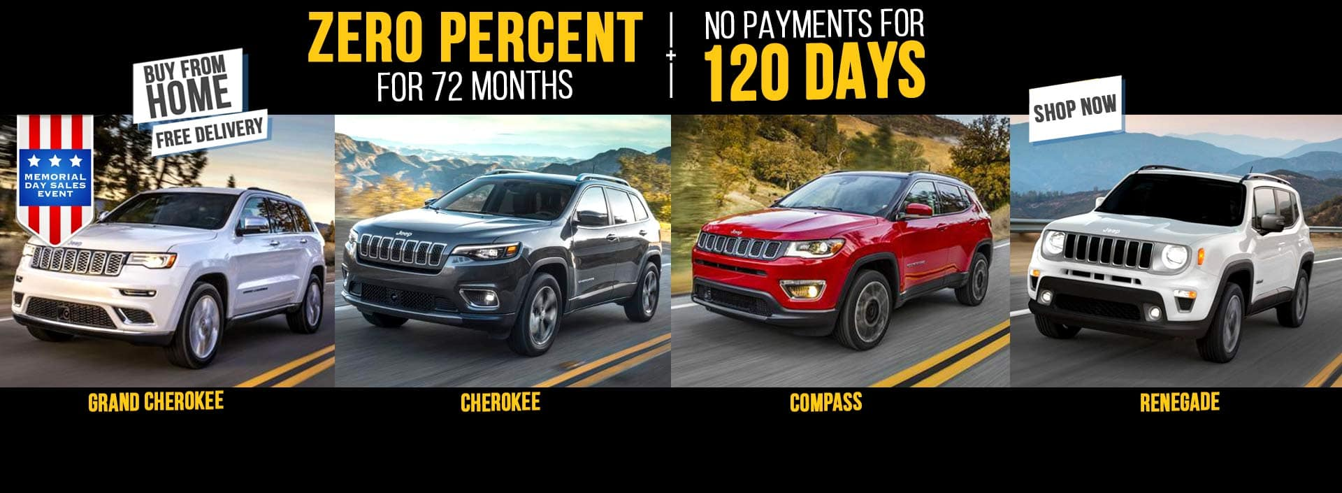 Memorial Day Sale Jeep Cherokee