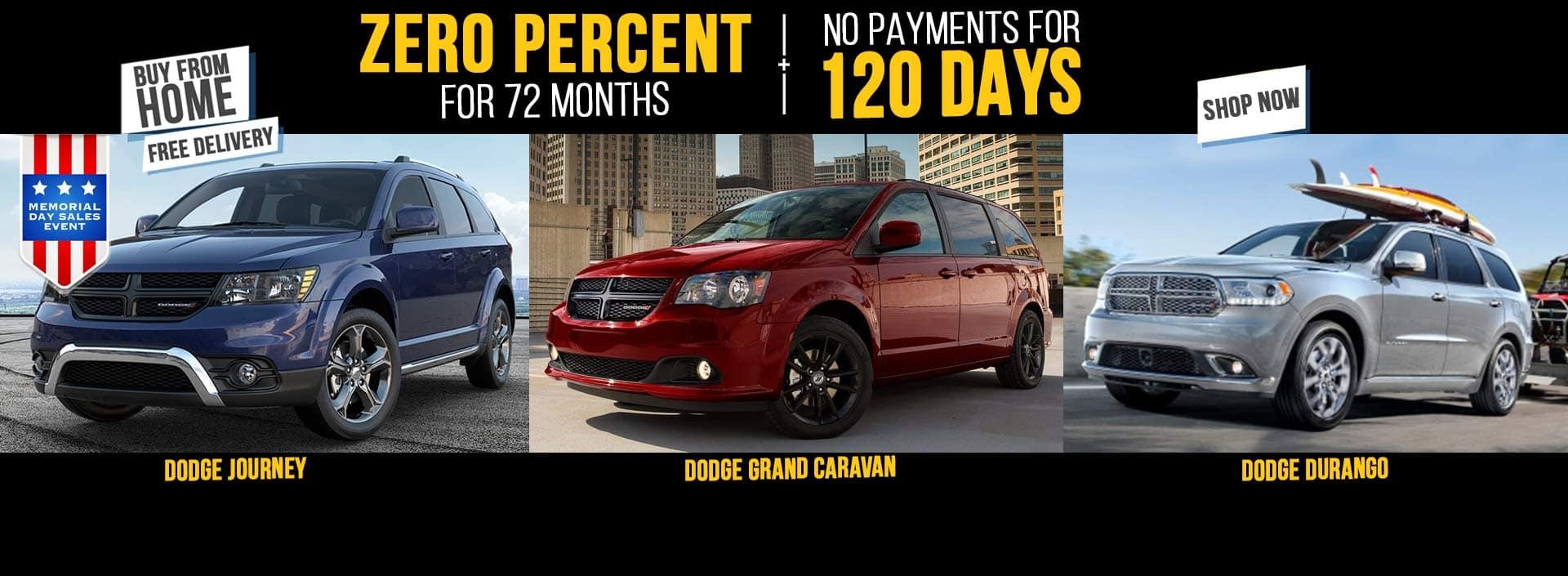 Memorial Day Dodge Journey Sale