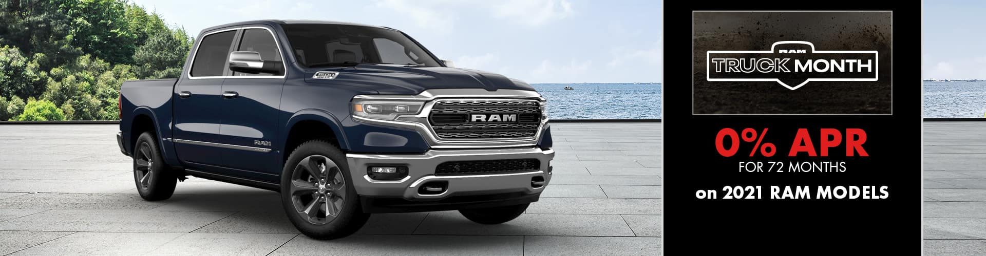 0% for 72 months on 2021 RAM models