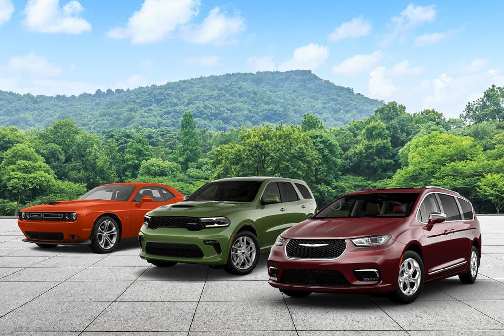 2021 Chrysler Pacifica, Durango, Challenger & Charger models