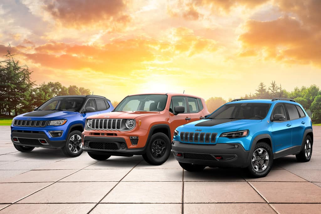 2021 Renegade, Compass, Cherokee models