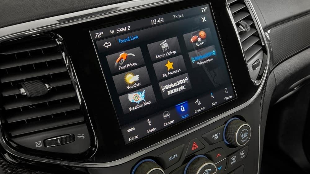 2020 Jeep Grand Cherokee Dashboard