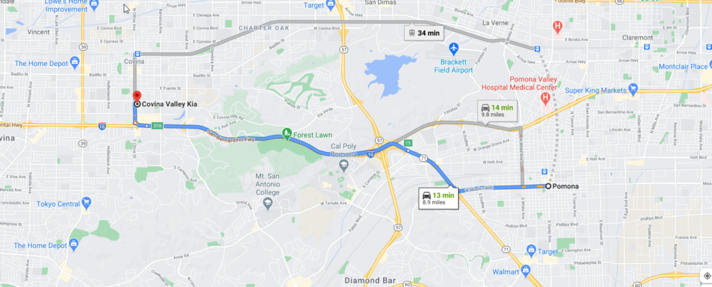 Kia Dealer Near Pomona California