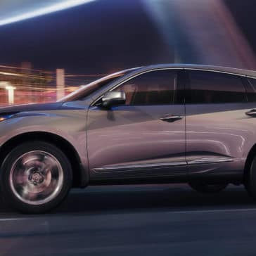 2019 Acura RDX city night driving