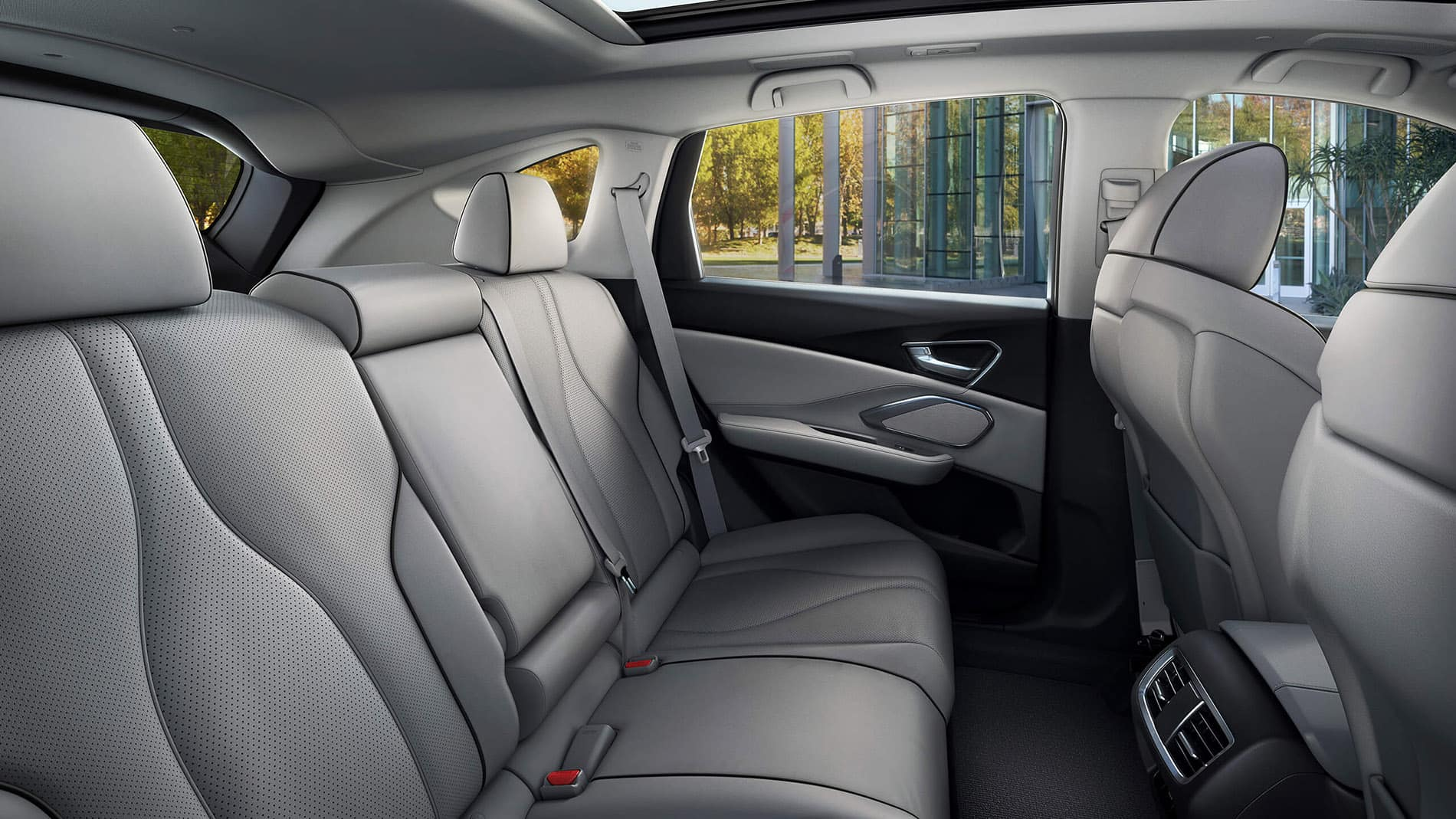 2019 Acura RDX rear seating